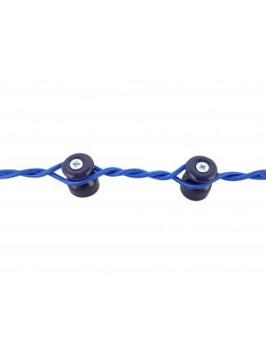 Изолятор фарфоровый, цвет azzurra (лазурный)