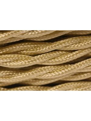 Провод витой золотой шелк 3х1,5