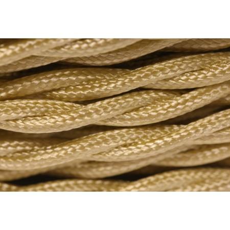 Провод витой золотой шелк 2х1,5