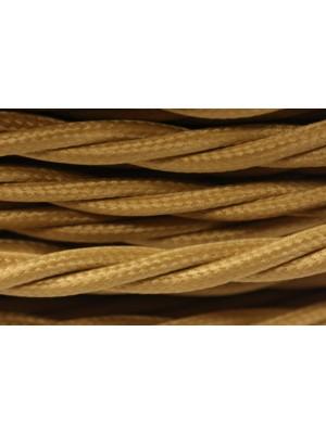 Провод витой песочное золото 3х1,5