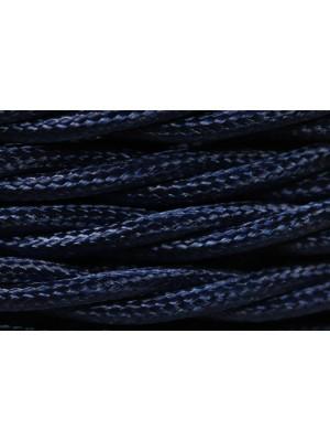 Провод витой синий шелк 2х1,5