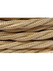 Провод витой песочный шелк 3х2,5