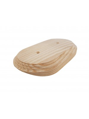 Рамка деревянная фигурная двухпостовая (110х190mm) на бревно 260 мм