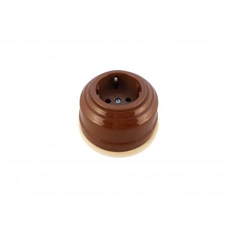 Рамка деревянная прямая однопостовая малая (D-85mm)